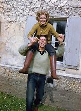 PHOTO ALAIN DELON ET ROMY SCHNEIDER 11X15 CM  # 13