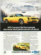 1979 CAMARO Z28  ***ORIGINAL VINTAGE AD*** RARE!!!!