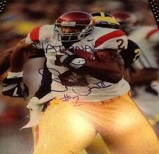 Steve Smith Signed 11x14  USC NY Giants Football great