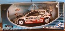PEUGEOT 206 WRC #2 RALLYE FINLANDE 2002 GRONHOLM RAUTIAINEN SOLIDO RACING 1/18
