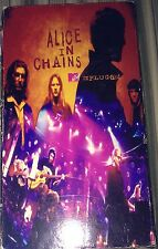 VHS ALICE IN CHAINS UNPLUGGED TAPE