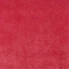 Designer Fabrics D237 54 in. Wide Pink Solid Woven Velvet Upholstery Fabric