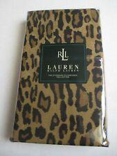 Ralph Lauren Aragon Neutral Guinevere Leopard 2 Standard Pillowcases