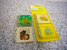 4 Little Little Golden Books Miniature 2 NEW Jack We Help Daddy Bambi 3 Bears