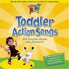 NEW Toddler Action Songs (Audio CD)