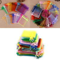 20Pcs Multicolor Drawable Organza Bags Wedding Party Favor Gift Jewellery BagCYN
