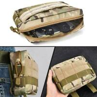 Tactical Molle Pouch EDC Multi-purpose Belt Waist Pack Pocket Phone Bag Uti N6I4