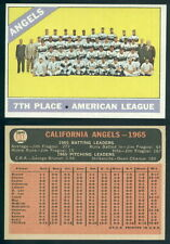 (40053) 1966 Topps 131 Angels Team Angels-NM
