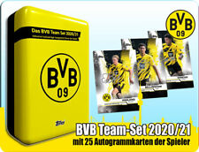 Topps Borussia Dortmund Team Set Mega Tin 2020/201 25 Autogrammkarten BVB 20/21