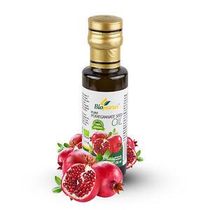 Certified Organic Cold Pressed Pomegranate Seed Oil 100ml Biopurus