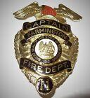 Farmington New Mexico Fire Department Captain Badge-Entenmann Rovin