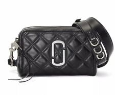 Marc Jacobs The Softshot 21 Crossbody Bag - Black