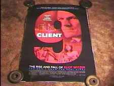 CLIENT 9  RISE AND FALL OF ELLIOT SPITZER ROLLED 27X40 MOVIE POSTER