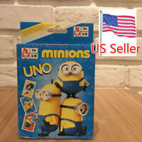 UNO Original Minions Character Card Game Fast Free Shipping From US Seller