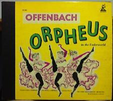 1952 ED1 Mono w/Book RENEE LEIBOWITZ offenbach orpheus 2 LP Mint- SX 204 Vinyl