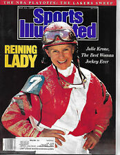 SPORTS ILLUSTRATED - FEATURES JOCKEY JULIE KRONE FROM MAY 22, 1989
