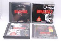 PS1 BIOHAZARD 1 2 3 & Gun Survivor 4 Game Set Japan import Resident Evil CAPCOM