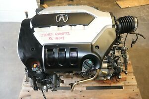 2009-2010 Acura RL 3.7L J37A2 VTEC Engine MJBA AWD Automatic Transmission