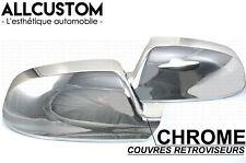 CACHES COQUES RETROVISEURS CHROME pour AUDI 2009-14 A3 A4 B8 A5 S5 SLINE QUATTRO