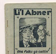 "L'il Abner""the folks go callin"" by Hugh G. Balls (Tijuana Bible, c.1930's)"