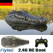Flytec RC Boot 2.4G Ferngesteuertes Simulation Krokodilkopf Spielzeug Boat DHL
