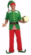 Santa JOLLY ELF Christmas 4 pcs. Costume Couple Unisex Party Adult Holiday 4-2A