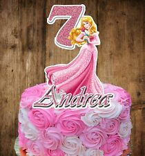 Princess Aurora (SLEEPING BEAUTY) Cake Topper (PERSONALIZED)