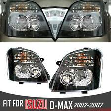 LED HEADLIGHT LAMP PAIR ISUZU HOLDEN RODEO DENVER DMAX D-MAX TFR 03 04 05 06 07