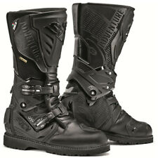 Sidi Adventure 2 Gore-Tex Street Touring Motorcycle Boot Black US 14.5 EU 50 GTX