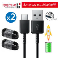 2x For Samsung OEM SPEC USB-C Type C Cable Fast Charging Cord Galaxy S8 Note LG