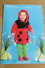 Sirdar Snuggly Snowflake Chunky - Pattern No. 1495 - Ladybird Hooded Jacket
