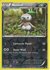 POKEMON CARD XY BREAK-POINT - NUZLEAF 72/122 REV-ERSE HOLO