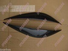 Carbon Fiber Headlight Eyebrows Eyelids for 2007-2011 Mercedes-Benz W204 C Class