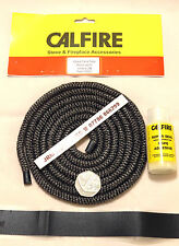 6mm Multifuel Stove Door Sealing Rope & Body part sealing kit -Soft Rope & glue