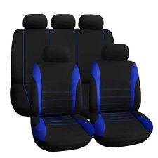 Blue Car Seat Cover Complete Seat Crossover Automobile Interior Accessory T