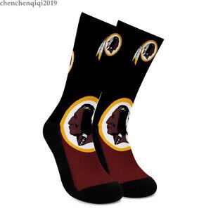 Washington Redskins Socks Soft Fans Crew Socks One Pair Comfortable to wear Gift