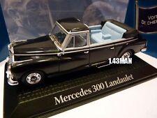 PR4 voiture 1/43 norev voitures de chefs d'état MERCEDES 300 Landaulet Adenauer