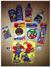 Marvel Avengers Characters Super Hero Squad Kids Bathroom Hygiene Set