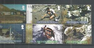 ASCENSION ISLANDS 2007 BRITISH ORNITHOLOGISTS UNION SG,979-986 U/M NH LOT 160A