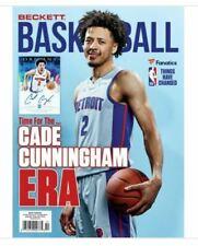 New October 2021 Beckett Basketball Card Price Guide Magazine W/ Cade Cunningham
