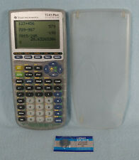 Texas Instruments TI-83 Plus Graphing Calculator With Slide Cover - Working