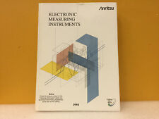 Anritsu 1998 Electronic Measuring Instruments Product Catalog