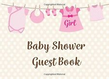 Baby Shower Guest Book for Girl Welcome Message Book 002