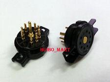 1Pc 9pin bakelite tube socket valve base for Ecc83 12At7 5670 6Dj8 6922 12Ax7