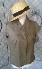 "Veste Paletot ""Promod"" Neuf taupe/lin Taille 40/42"