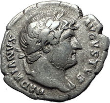 Hadrian  117-138AD Silver  Rare  Ancient Roman Coin Victory Nike Cult i58504