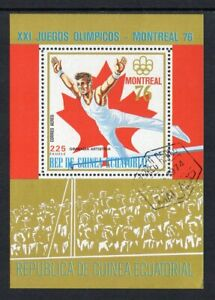 Equatorial Guinea - 1976, Olympic Games, CTO Mini-Sheet (2)