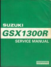 SUZUKI HAYABUSA GSX1300R,GSX1300RX,1999 FULL FACTORY WORKSHOP MANUAL