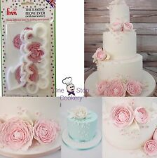 FMM Easiest PEONY Ever Cutter Sugarcraft Flowers With Leaf Cutter 1st Class post
