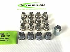 MGF/ MGTF/ LE500 WHEEL NUT SET (12) AND LOCKING WHEEL NUT KIT.FREE BAG